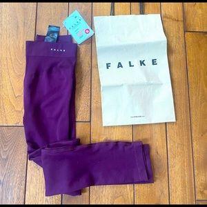NWT FALKE Leggings in Purple Color Size M